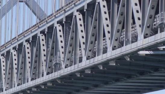 Металлоконструкция моста